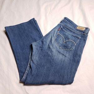 Levi's Size 13 Short 518 Superlow Bootcut Jeans